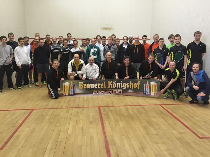Die komplette Regionalliga Rheinland zu Besuch in der Turnhalle.